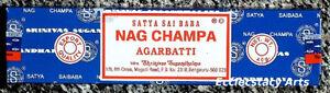 Satya-Nag-Champa-Incense-Sticks-1-Box-40-Grams-Sai-Baba-Agarbatti-NEW