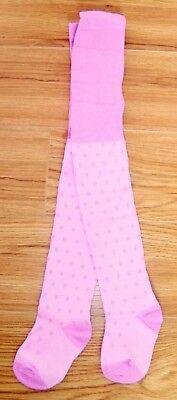 BNWOT Ex Mothercare Pink or Orange Polka Dot Jersey Dress Age Range 2-3 /& 7-8 yr