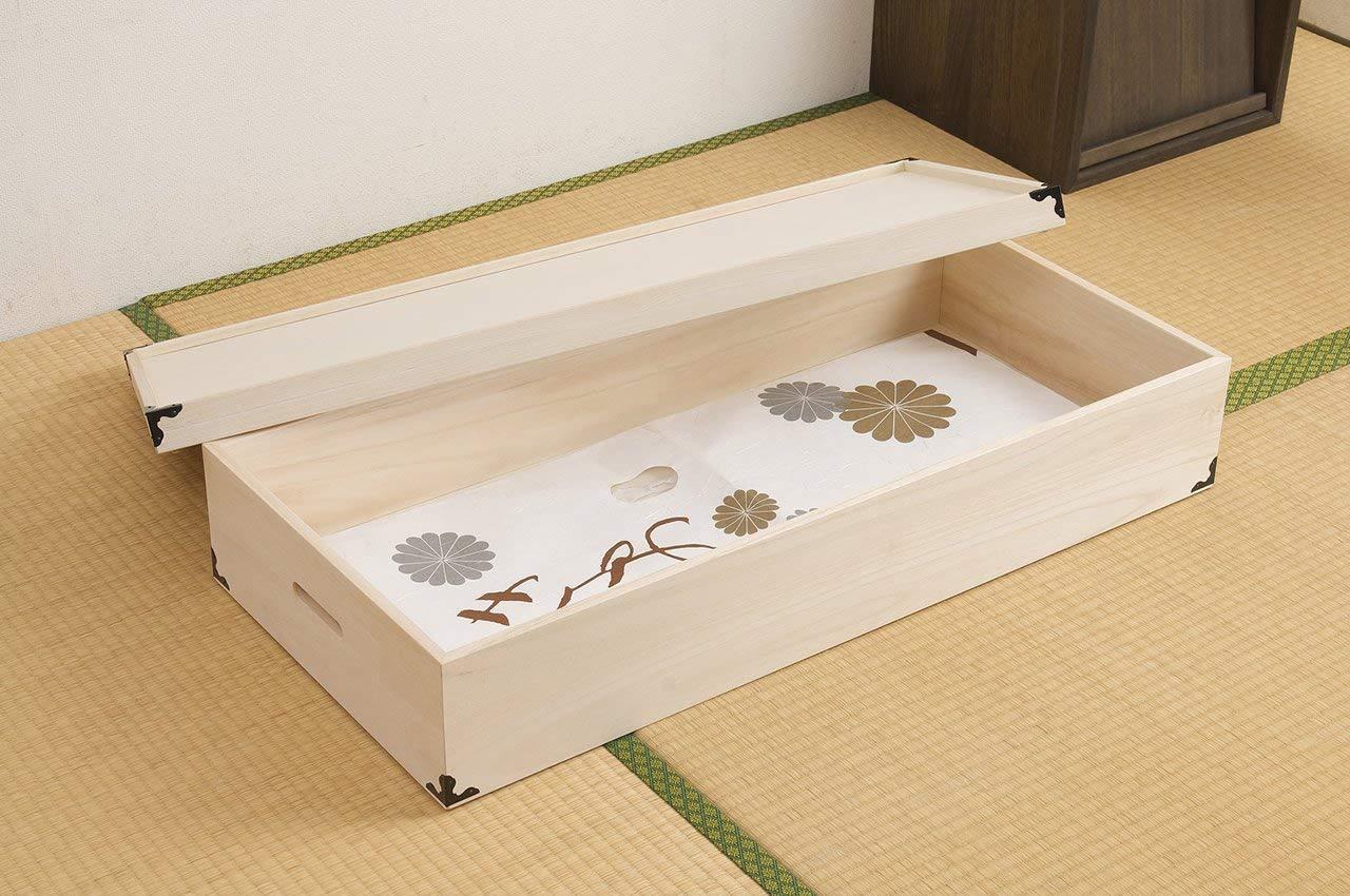 Japanese Kimono Storage Box Paulownia Wood