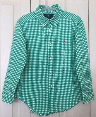 Bnwt Ralph Lauren Ragazze Check Verde Camicia A Maniche Lunghe 5yrs Rrp £ 55-mostra Il Titolo Originale Bello E Affascinante