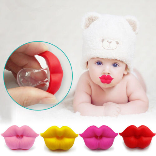 Cute Funny Orthodontic Soother Baby Silicone Nipple Pacifier Teether Dummy Lip