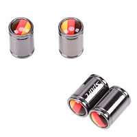 Germany Flag Car Auto Wheel Tyre Air Valve Caps Dust Cover Fit Subaru Ford Mazda