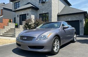 Infiniti G37x Coupe AWD, 330hp - 3,7L GPS ET CAM