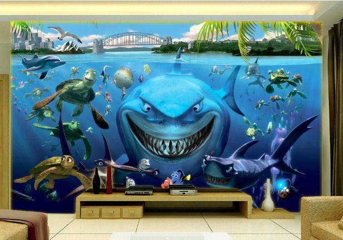 3D Lustige Wal 574 Fototapeten Wandbild Fototapete BildTapete Familie DE