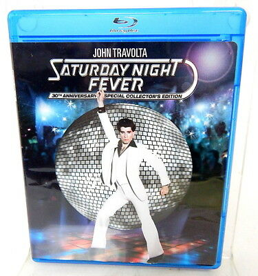 2C BLU-RAY SATURDAY NIGHT FEVER Disco Classic John Travolta 30th  Anniversary Ed 97361233246 | eBay