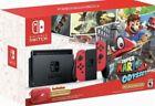 Nintendo Switch Joy 32GB Consola Kit con Super Mario Odyssey - Rossa