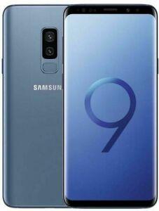 Samsung Galaxy S9 Plus 64GB DS Bleu très bon état Reconditionné A.A236