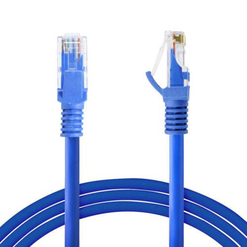 6FT -100FT CAT5e CAT5 LAN Ethernet Internet Modem Network Cable Patch Lead Lot