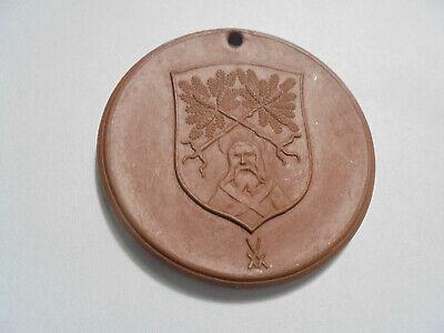 Verantwortlich 31228 Dippoldiswalde Sachsen 750 Jahre 1218-1968 Meissner Porzellan 42mm