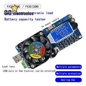 Capacità Batteria Tester corrente costante carico elettronico USB Power discloser