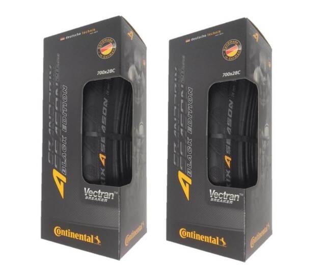 Continental Grand Prix 4 Season 700c Tire Black Edition Damaged Packaging