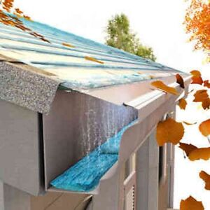 Easyon gutter guard 24 foot or 100 foot box 5 or 6 do it image is loading easyon gutter guard 24 foot or 100 foot solutioingenieria Images