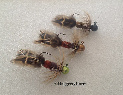 Hen Bug Jigs   Steelhead Walleye Salmon Smallmouth Bass Trout Crappie