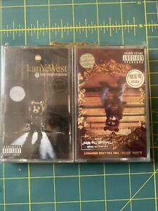 Kanye West Late Registration The College Dropout Cassette Rare Factory Sealed