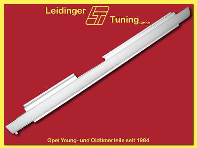 links 3 türig Rekord C   Commodore A   Schweller Einstiegsblech Ecke 2