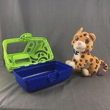Nick Jr. Go Diego Go Animal Rescue Talking Baby Jaguar Stuffed Plush W/ Cage