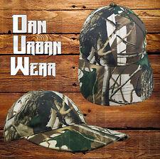 Real Tree Camo Baseball Cap Jungle Army Fishing Hunting Camouflage Camping Hat