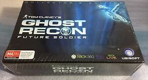 Xbox-360-Game-Ghost-Recon-Future-Soldier-Collector-039-s-Edition-Collectors-BrandNew