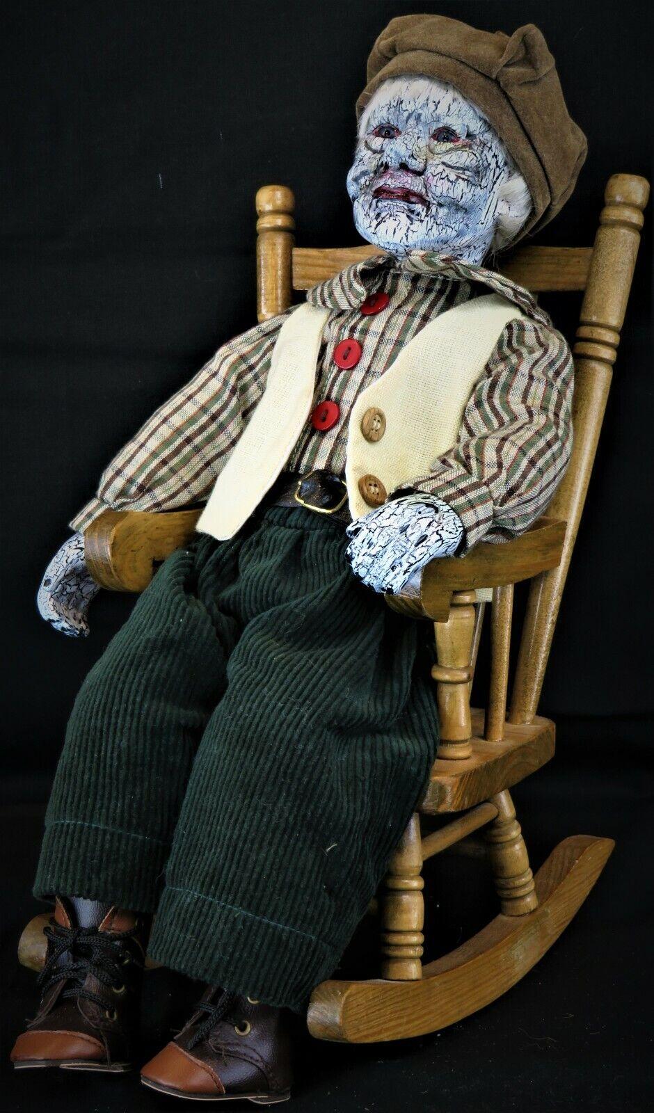 Mortimer By Wicked Wanda creations  OOAK creepy haunted horror Halloween doll