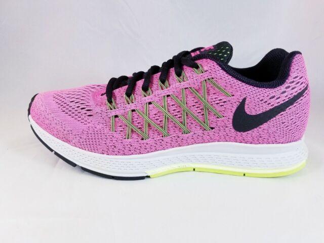 3873e8bb4f1eb6 Nike Air Zoom Pegasus WMNS 32 Pink Black Womens Running Shoes 749344 ...