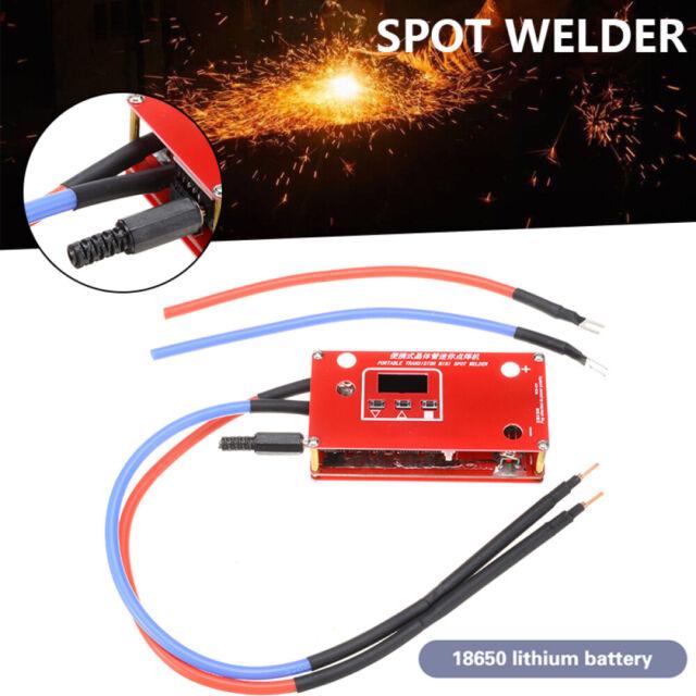Desktop Rechargeable Mini Spot Welder Welding Machine With Pen Fit 18650 Battery