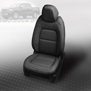 Katzkin Black Replacement Leather Int Fits 2015 2018 Gmc