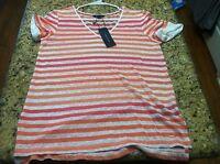 Tommy Hilfiger Women's Size S/p Sedona Sunset Shirt Summer Small Orig $49.50