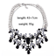 Ladies-Fashion-Crystal-Pendant-Choker-Chain-Statement-Chain-Bib-Necklace-Jewelry thumbnail 71