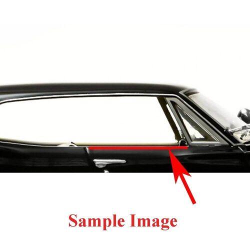 1970-1972 Chevelle 2 Door Sedan Windowfelt Kit 8pc OEM