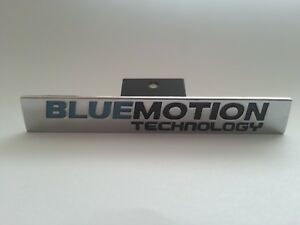 Bluemotion-Technology-Alloy-Labels-Emblem-Front-Grill-Badge-Sticker-Fits-GOLF