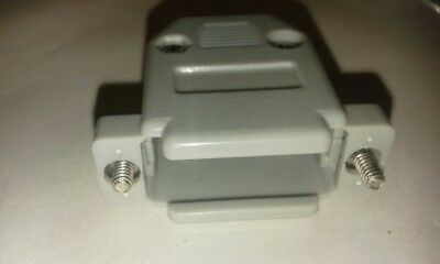 Utile 4 X Porta Seriale Db15 Connettore D-sub Kit Alloggiamento In Plastica Guscio Di Copertura Cofano #vid36- Piacevole Al Palato