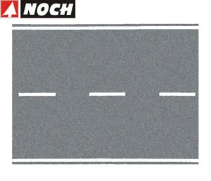 NOCH-H0-60703-Bundesstrasse-grau-100-x-8-cm-1-m-84-88-NEU-OVP