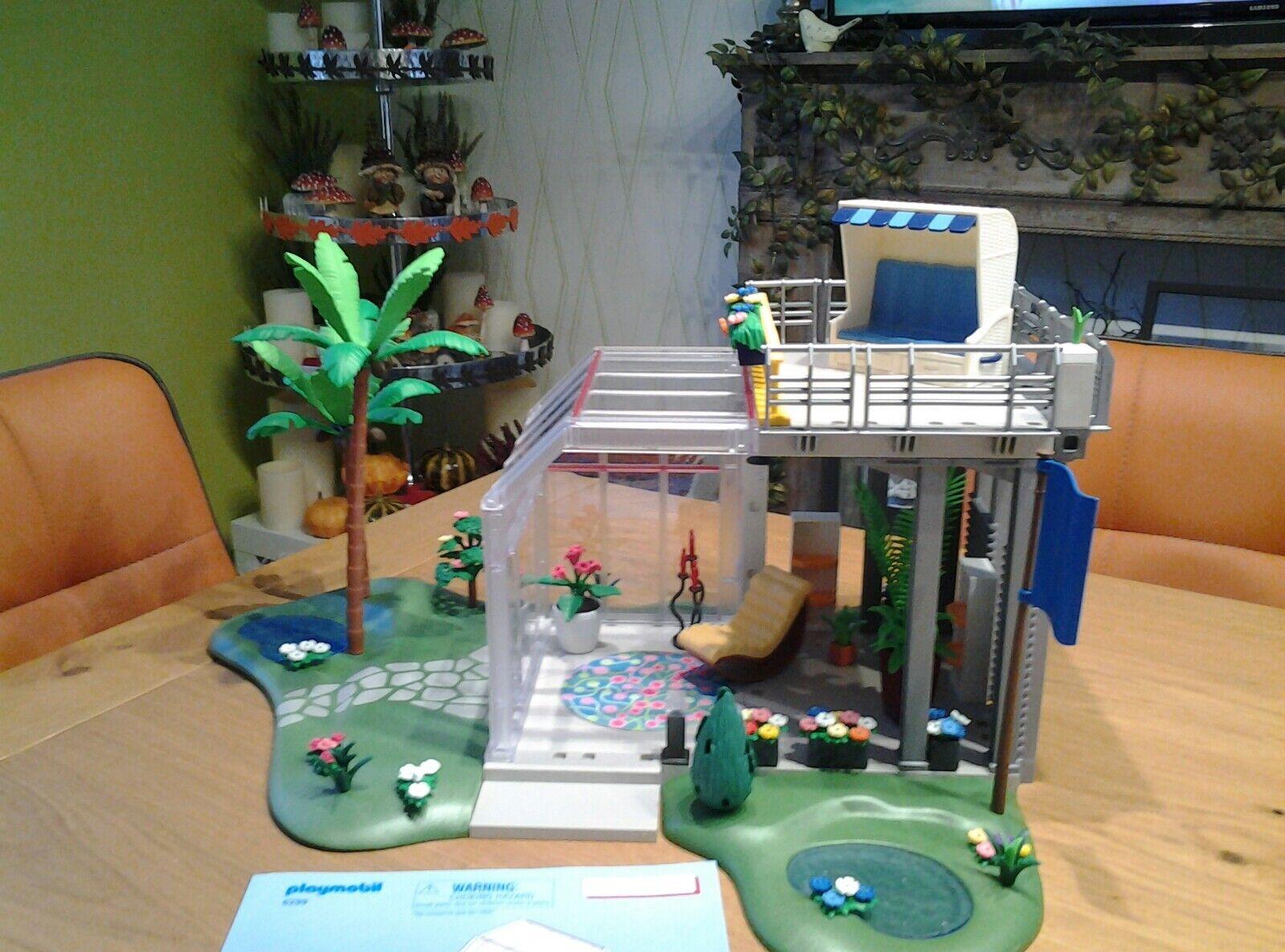 Playmobil 6299 Wintergarten mitZubehör Luxusvilla 5574 Kinder Spielzeug Mädchen