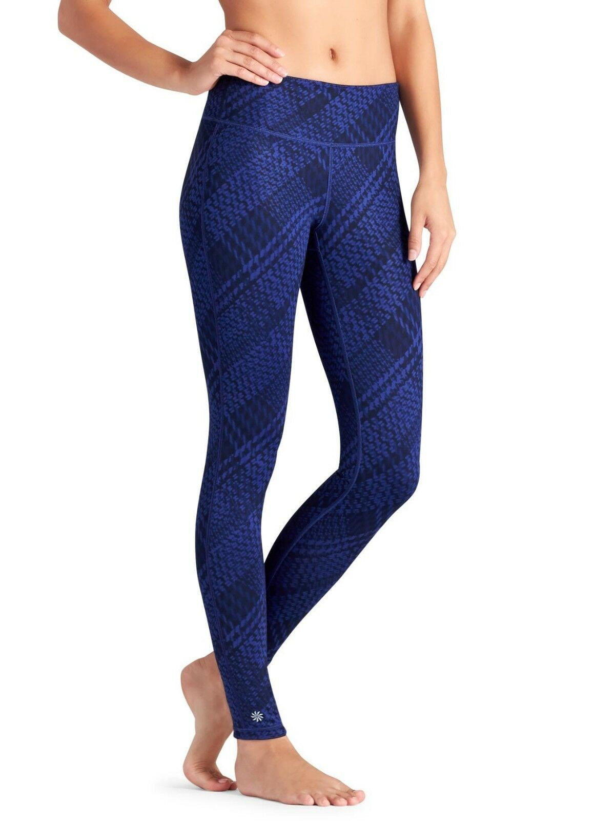 Athleta Reversible WESTCHESTER Chaturanga Tight, SAPPHIRE SIZE L   N0105