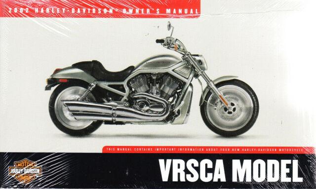 Harley Davidson 2002 Vrsca Vrod Owners Manual 99736 02 6468 For Sale Online Ebay