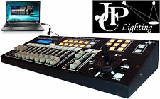 Easy to use DMX Controller with Joystick for Moving Heads ->Follow Spot, USB GUI