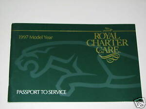 1997 jaguar xj xk8 owner manual passport to service new ebay rh ebay com jaguar owner manual pdf jaguar owners manual pdf