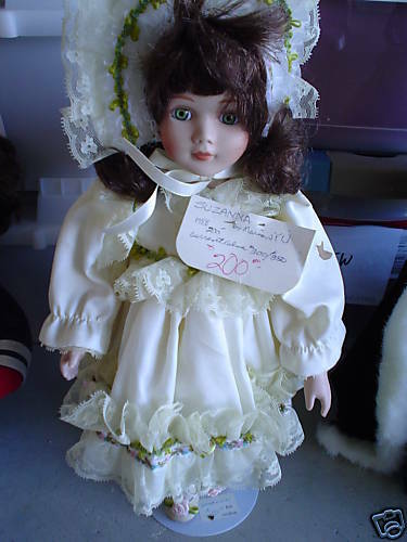 RARE 1990 Design Debut Suzanna Collection Doll Doll Collection by YU 3929f9