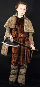 Girls Viking-Celt-Dark Age-World Book Day Fancy Dress Costume  all ages Code 02