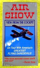 Air Show - View From The Cockpit ~ New VHS Movie ~ Flying Daredevil Plane Video