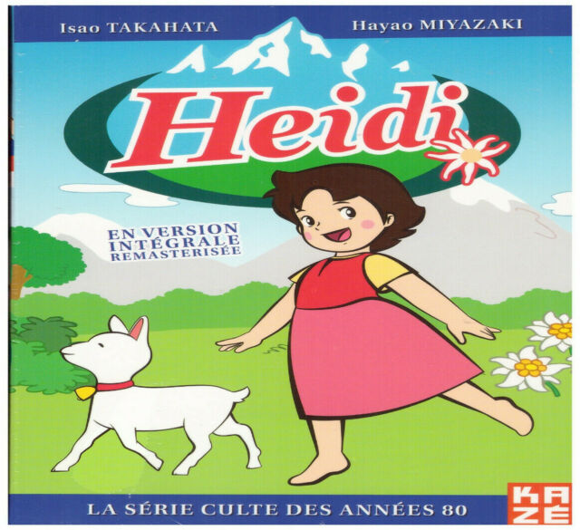 ★ Heidi ★ Intégrale - Edition Remastérisée - Coffret 6 DVD - Neuf sous blister
