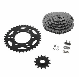 2005-2006 Polaris Predator 500 Chain and Sprocket Kit Heavy Duty Black