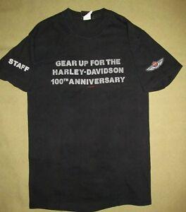 Harley Davidson 100th Anniversary T-shirt