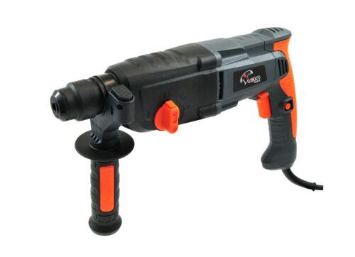SDS Plus Schlagbohrhammer 1050 Watt mit Drehzahlregler Zubehör und Koffer