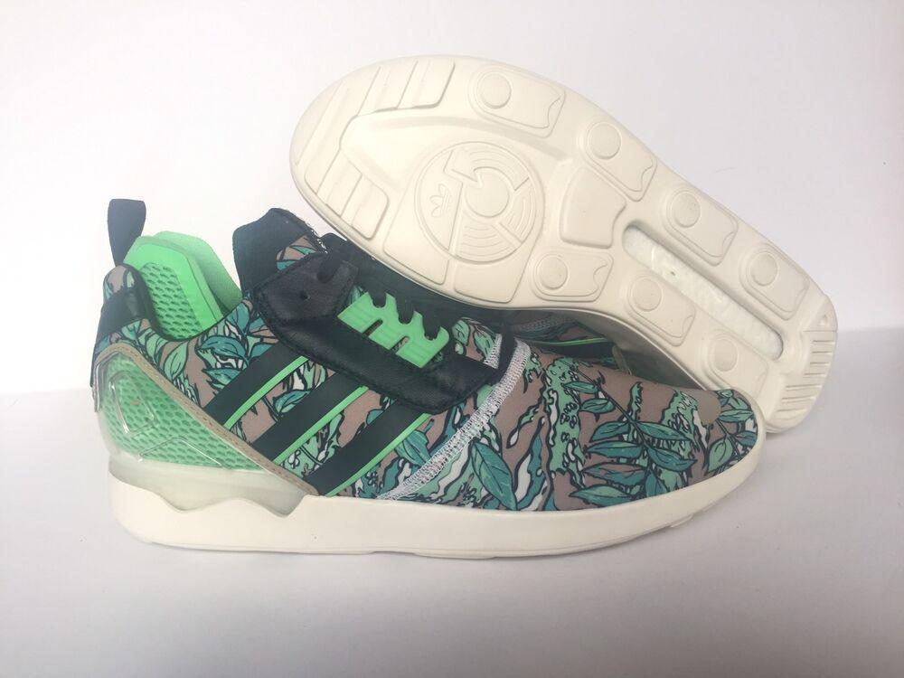 Mens Adidas ZX 8000 Boost Kanye Yeezy Sneakers Sz 9.5 Petrol Ink Green B26364