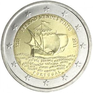 2 euros commémorative Portugal 2011 500ème an de la naissance de F.Mendes NEUF