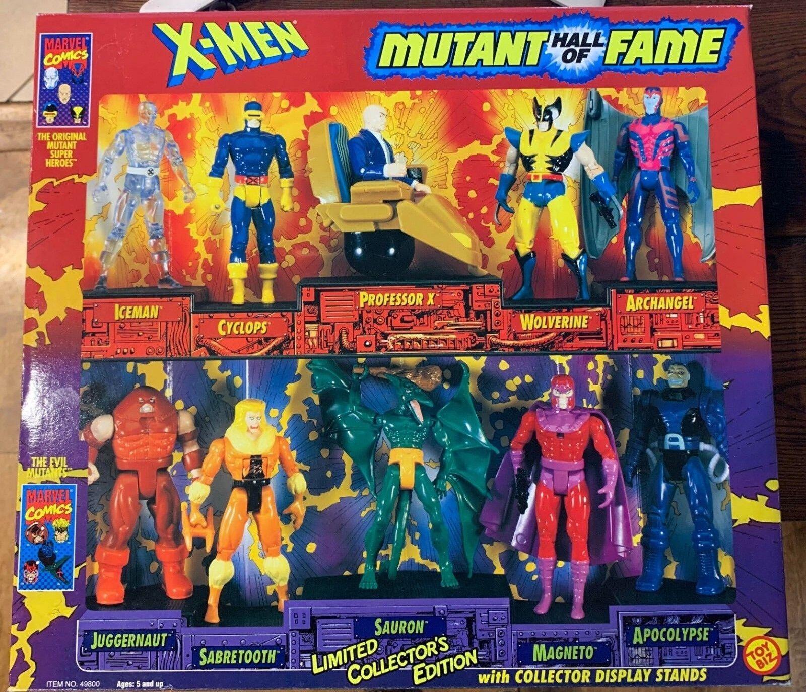 Toybiz Marvel X-Men Mutant Hall of Fame 10 Figure Set IB