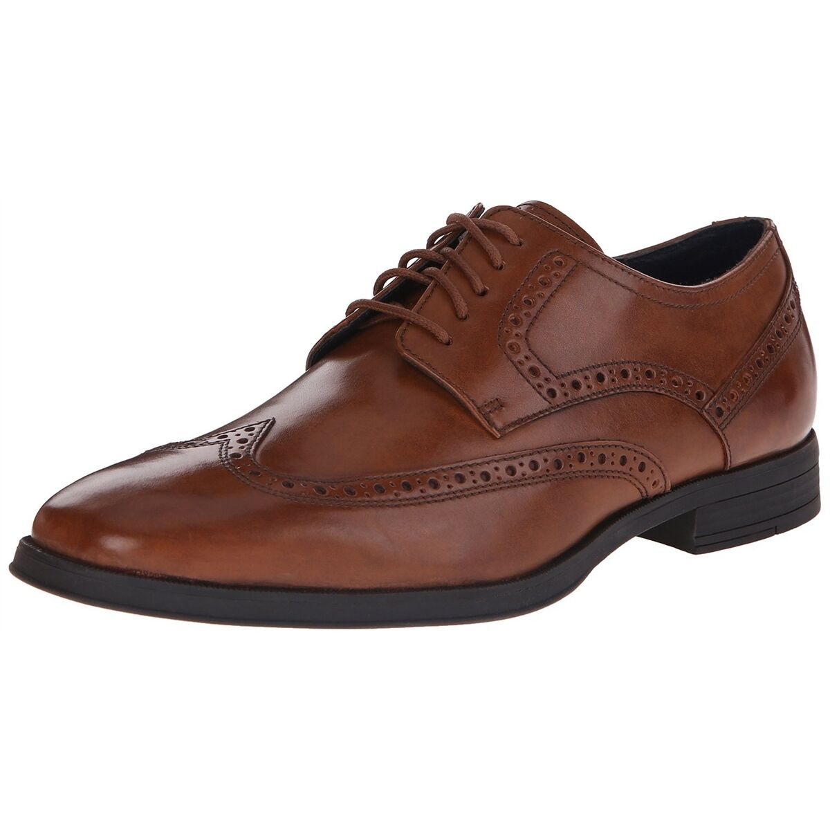 Cole Haan Men's NEW Montgomery Wing Tip Tip Tip Toe Oxford Leather scarpe Marroneee NEW ffce2c