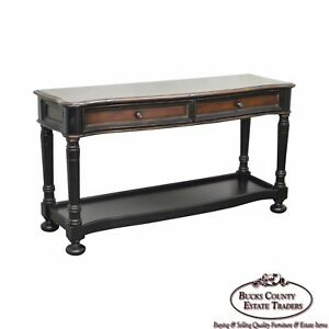 Image Is Loading Hooker Furniture Seven Seas Paint Decorated Console Table