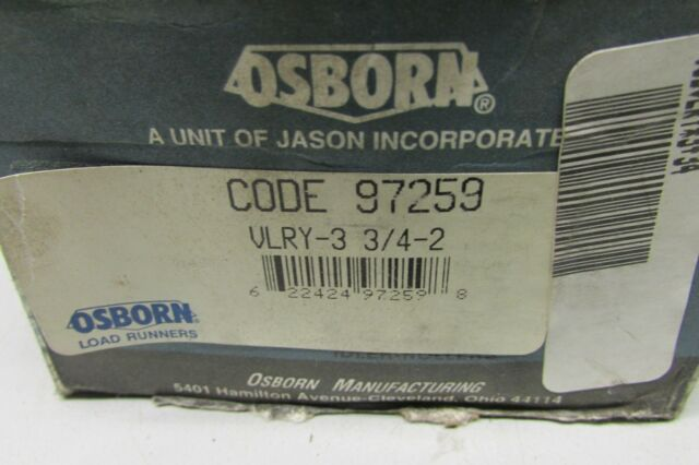 Osborn Load Runner Idler Rollers PLRE 2-3//4 ~ New in box AISLE A